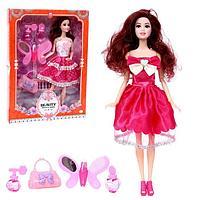 Кукла-модель модная «Стилист Карина» шарнирная, с аксессуарами, МИКС