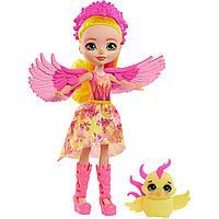 Enchantimals Кукла Энчантималс с питомцем Фалон Феникс и Санрайз, 15 см