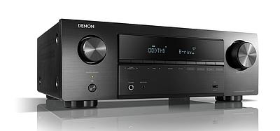 Ресивер Denon AVR-X550BTBKE2, 5.2, 5 каналов по 130W, Dolby TrueHD/MP3, USB, FM/AM, HDMI, SPDIF