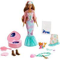 """Barbie """"Цветное перевоплощение"""" Кукла-сюрприз Русалка Барби, Color Reveal"""