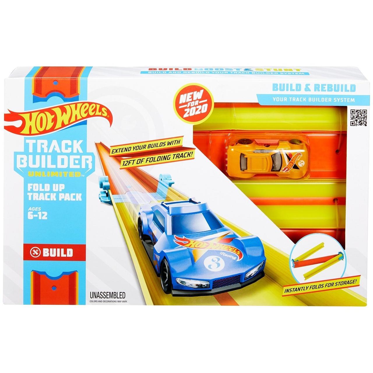 Hot Wheels Игровой набор Складной Трек Хот Вилс GLC91