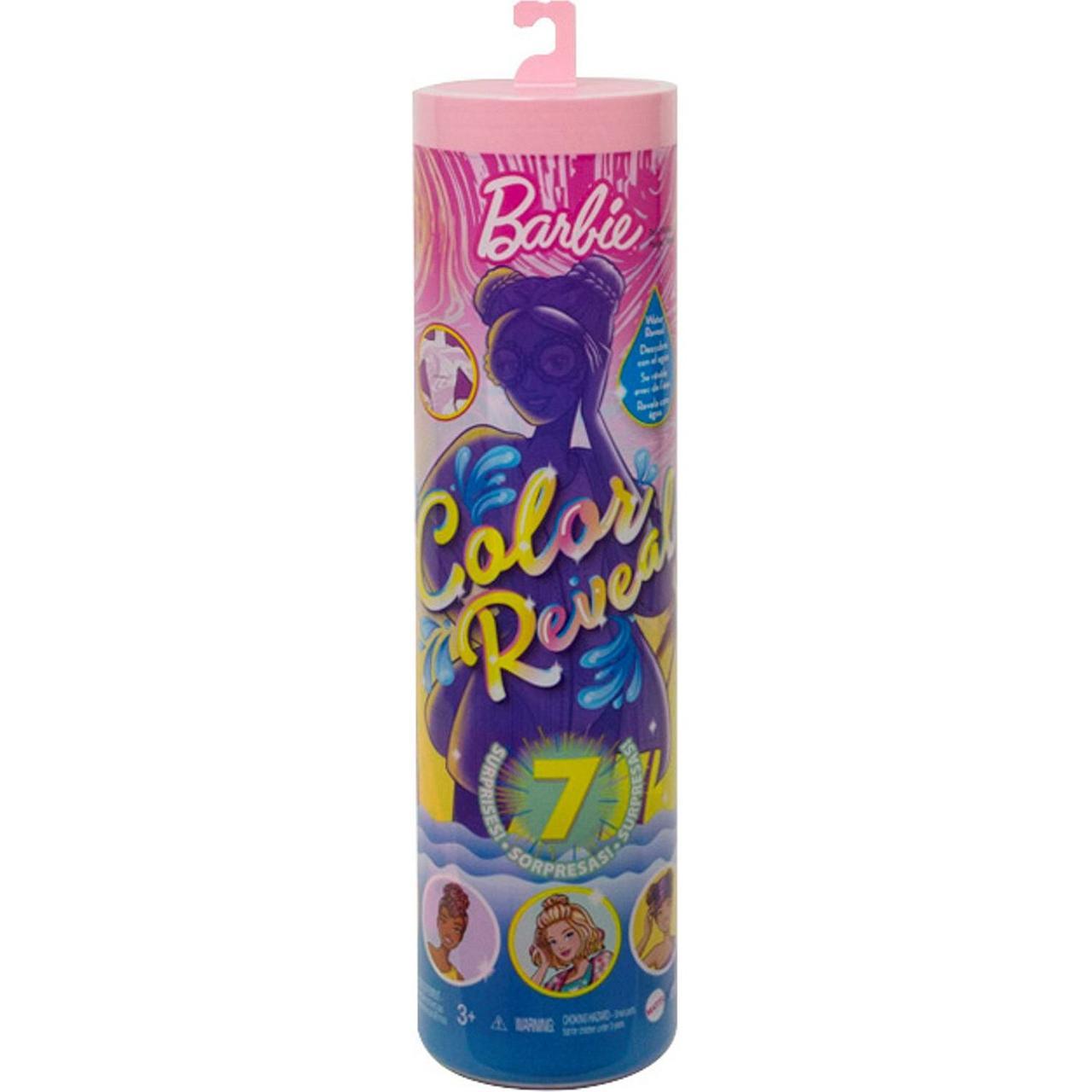 """Barbie """"Цветное перевоплощение"""" Кукла-сюрприз Барби Песок и Солнце, Color Reveal"""