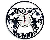 Настенные часы Демон demon, подарок фанатам, любителям, 2474