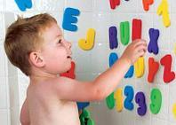 """Игрушка для ванной """"Буквы и Цифры"""" 24+ (Munchkin, США)"""