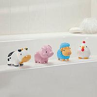 """Игрушка для ванной """"Деревенские зверюшки 4 шт."""" 9+ (Munchkin, США)"""