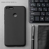 Чехол Innovation, для Xiaomi Mi 5X (Mi A1), силиконовый, матовый, черный