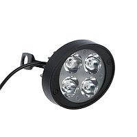 Фара cветодиодная для мототехники, 4 LED, IP67, 12 Вт, направленный свет