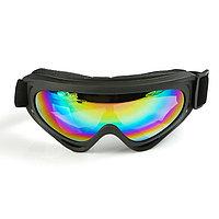 Очки для езды на мототехнике, стекло хамелеон, цвет черный