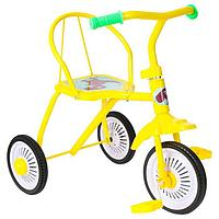"Велосипед трёхколёсный Micio TR-311, колёса 8""/6"", цвет желтый"