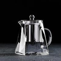 Чайник заварочный Magistro «Дарси», 450 мл, 14×8,5×13,5 см, с металлическим ситом