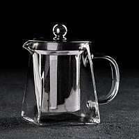 Чайник заварочный Magistro «Дарси», 300 мл, 13×7,5×11 см, с металлическим ситом