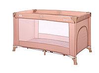 Кровать - манеж Lorelli TORINO 1(бежевый,серый,серо-синий,розовый), фото 1