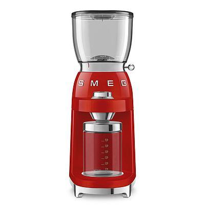 Кофемолка Smeg CGF01RDEU красный