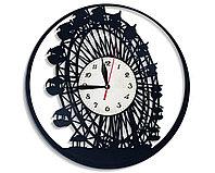 Настенные часы Чертово колесо обозрения, подарок фанатам, любителям, 2504