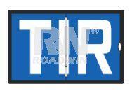 Знак TIR алюм.книжка светоотражающий
