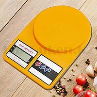 Кухонные электронные весы BeK.iMPORT до 8 кг желтые