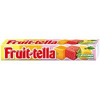 Жевательная конфета Fruittella, ассорти, с фруктовым соком, 41г