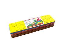Набор геометрических фигур Полиграф для детского творчестов картон