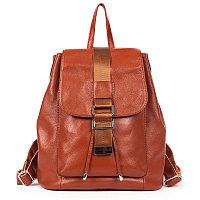 Рюкзак-сумка женский РОГ 8905 экокожа.темно-оранжевый