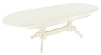 Раздвижной стол Рафаэль (2000(500*3)*1000) Тон 10 (Слоновая кость RAL 1015)