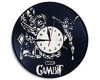 Настенные часы Гамбит Марвел Gambit Marvel, подарок фанатам, любителям, 2519