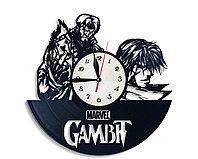 Настенные часы Гамбит Марвел Gambit Marvel, подарок фанатам, любителям, 2520