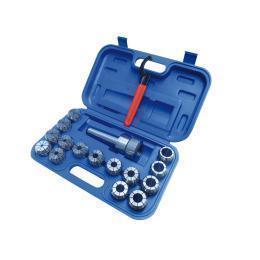 Патроны цанговые 3-25 мм ER40 ISO40 / 15 шт.