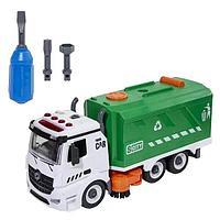 Машина мусоровоз подметально-уборочная Wincars с звуковыми и световыми эффектами