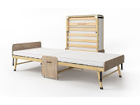 """Кровать """"Dr.Bronz A250"""" эконом Дуб 80х190"""