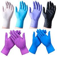 Перчатки Disposable Gloves нитриловые