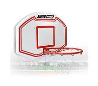 Щит баскетбольный пластик 90х60х3см с усилителем