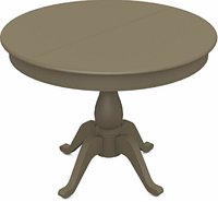 Раздвижной стол Фабрицио (D 1000), Тон 40 (Мокко)