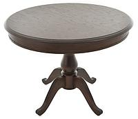 Раздвижной стол Фабрицио 1 (D 1000) ,Тон 7 (Орех темный)