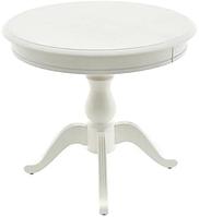 Раздвижной стол Фабрицио 1 (D 1000) ,Тон 9 (Эмаль белая)