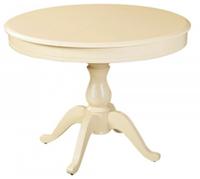 Раздвижной стол Фабрицио 1 (D 1000) ,Тон 10 (Слоновая кость)