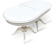 Раздвижной стол Фабрицио 2 (1600(500*2)*900) ,Тон 9 (Эмаль белая)