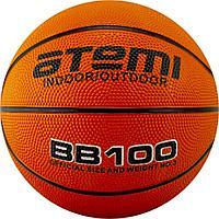 Мяч баскетбольный Atemi, р.7, резина, 8 панелей, BB100