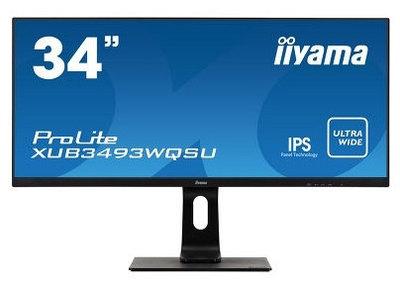 Монитор Iiyama ProLite XUB3493WQSU-B1, черный