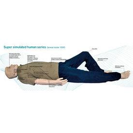 Супер моделированный человеческий манекен General Doctor 10000