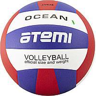 Мяч волейбольный Atemi, OCEAN, синтетическая кожа PU , син-красн-бел