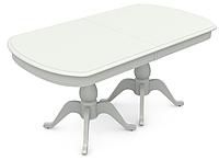 Раздвижной стол Фабрицио 2М (1600(500*3)900), ,Тон 9 (Эмаль белая)