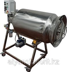 Массажер вакуумный (для мяса, с переменной частотой вращения) ИПКС-107-200Ч(Н), объем бункера 200 л, регулир.