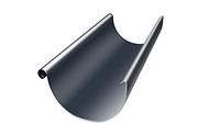 Желоб доборный Ø125 мм 1250 мм 0,5 двусторонний RAL  7024 Серый