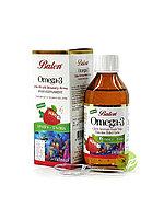 Витаминный комплекс Рыбий жир с ароматом клубники Омега 3 для детей с 4 лет Balen 150 мл. Турция
