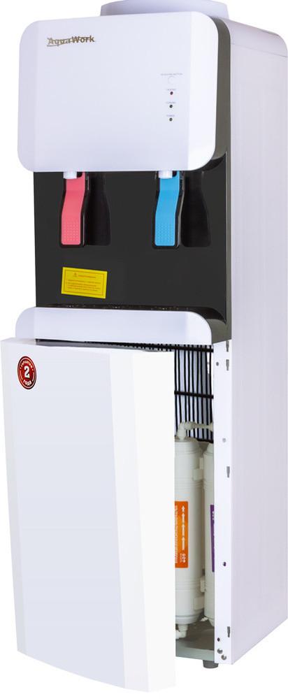 Пурифайер с компрессорным охлаждением Aqua Work 105-LR/SF+F