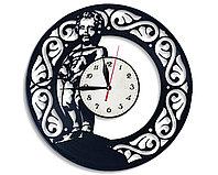 Настенные часы Писающий мальчик Manneken Pis, подарок фанатам, любителям, 2616