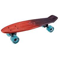 Penny board (пенни борд) Tech Team Metallic 22 red