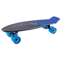 Penny board (пенни борд) Tech Team Metallic 22 blue