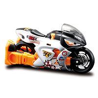 Мотоцикл-трансформер Maisto 35003 silver/orange