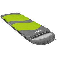 Спальный мешок Atemi Quilt Туристический 200 г/м2 +12 С gray/green р-р L (левая)